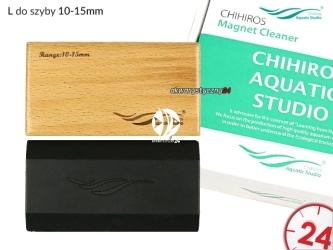 CHIHIROS Magnet Cleaner L (330-203) - Czyścik magnetyczny do szyby 10-15mm