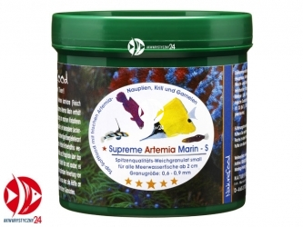 Naturefood Supreme Artemia Marin S 55g | Miękki pokarm dla morskich ryb mięsożernych i planktonożernych do 2cm