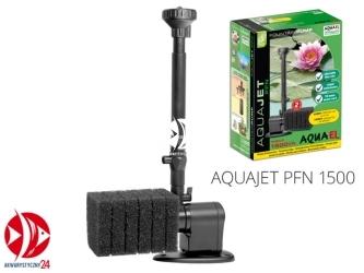 AQUAEL Aquajet PFN 1500 (109436) - Pompa fontannowa 1500l/h do oczek wodnych