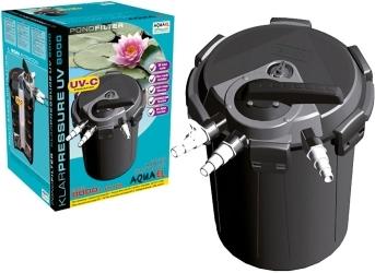 AQUAEL Klarpressure UV 8000 (102150) - Filtr ciśnieniowy UV z funkcją samoczyszczenia i obiegiem wstecznym do oczek do 8000l