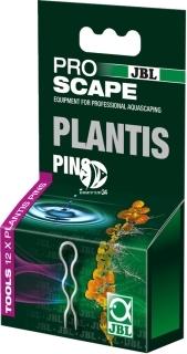 JBL Plantis Pins (61368) - Komplet 12 uchwytów do mocowania roślin w podłożu