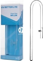 VIV Wlot szklany Lily Pipe 17mm (200-03) - Rurka szklana pasująca na węże 16/22mm