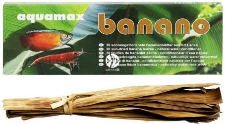 AQUAMAX Banano (034) - Suszone liście bananowca, 30 sztuk