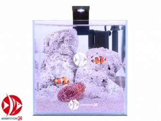 Aqualighter Nano Marine Set 15l | Zestaw akwariowy ze szkła OPTI-WHITE z oświetleniem i filtrem