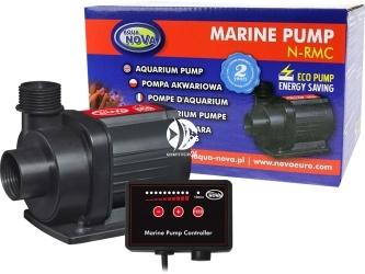 AQUA NOVA Marine Pump N-RMC-12000 (N-RMC-12000) - Pompa obiegowa z kontrolerem przepływu 12000l/h, 80W, H.max. 6,0m