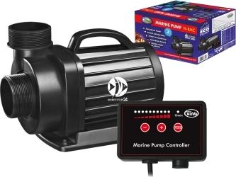 AQUA NOVA Marine Pump N-RMC-15000 (N-RMC 15000) - Pompa obiegowa z kontrolerem przepływu 15000l/h, 105W, H.max. 5,7m