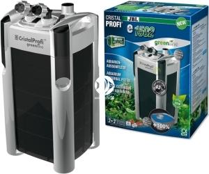 JBL CristalProfi Greenline e e1502 (60283) - Energooszczędny filtr zewnętrzny do akwarium