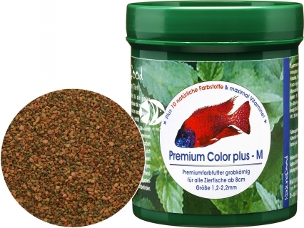 NATUREFOOD Premium Color Plus (32110) - Tonący pokarm wybarwiający dla ryb wszystkożernych