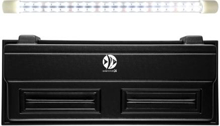 DIVERSA Pokrywa Selecto LED 100x40cm (1x24W) (118350) - Obudowa do akwarium z oświetleniem LED z tworzywa sztucznego