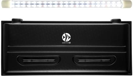 DIVERSA Pokrywa Selecto LED 100x50cm (1x24W) (118351) - Obudowa do akwarium z oświetleniem LED z tworzywa sztucznego