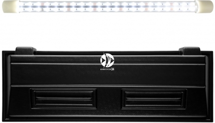 DIVERSA Pokrywa Selecto LED 120x40cm (1x24W) (118352) - Obudowa do akwarium z oświetleniem LED z tworzywa sztucznego