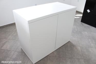 Szafka pod akwarium A24 PW-MDF-L (Biała) 100x50x80cm