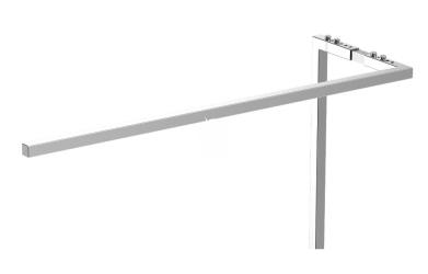 ONF Stelaż do oświetlenia - Zestaw do podwieszania belki oświetleniowej Flat One LED