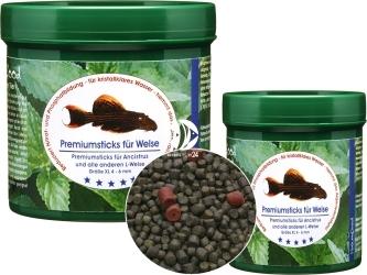 NATUREFOOD Premiumsticks für Welse (34410) - Tonący pokarm dla zbrojników i sumików