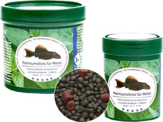 NATUREFOOD Premium Catfish Sticks - Tonący pokarm dla zbrojników i sumików