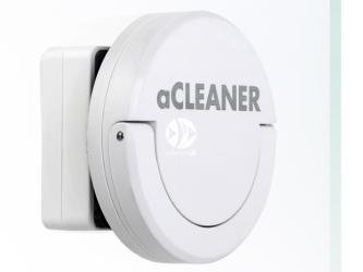 Aqualighter aCleaner biały | Czyścik magnetyczny do akwarium