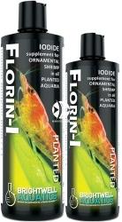 BRIGHTWELL AQUATICS Florin-I (FNI125) - Suplement jodu wspierający proces linienia i zrzucania egzoszkieletu przez krewetki żyjące w akwariach roślinnych