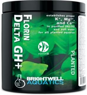 BRIGHTWELL AQUATICS Florin Delta GH+ (FDGH250) - Mineralizator ustanawiający prawidłowe stężenia K+, Mg2+ i Ca2+ do wszystkich akwariów roślinnych.