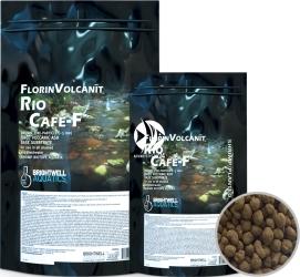 BRIGHTWELL AQUATICS FlorinVolcanit Rio Cafe-F (FVCF5) - Brązowe, drobnoziarniste (ok. 3 mm) podłoże bazowe z wypalanego popiołu wulkanicznego.