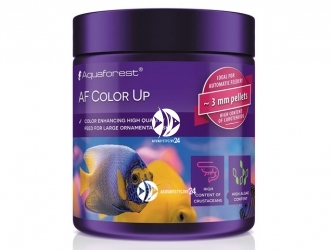 Aquaforest Color Up 120g | Pokarm granulowany dla dużych ryb ozdobnych