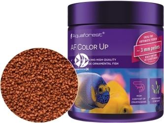 AQUAFOREST AF Color Up 120g - Pokarm granulowany dla dużych morskich ryb ozdobnych.
