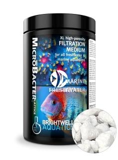 BRIGHTWELL AQUATICS MicroBacter Lattice - Ekstremalnie porowate biologiczne medium filtracyjne do każdego rodzaju akwarium.