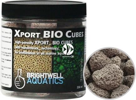 BRIGHTWELL AQUATICS Xport BIO Cubes (XPCubeBIO250) - Ultraporowate biologiczne medium filtracyjne w kształcie kostek o doskonałej wydajności