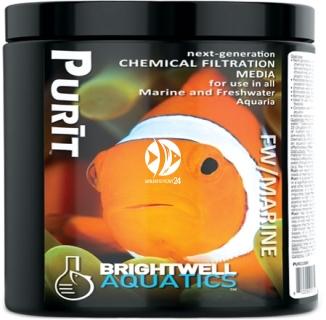 BRIGHTWELL AQUATICS Purit (PURI250) - Medium do chemicznej filtracji wody (węgiel i żywica)