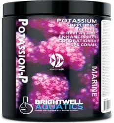 BRIGHTWELL AQUATICS Potassion-P 300g (PTSP300) - Suplement potasu w proszku przeznaczony głównie do akwariów rafowych z koralami SPS.