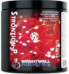 BRIGHTWELL AQUATICS Strontion-P 150g (STRP150) - Suplement strontu do wszystkich akwariów morskich z obsadą rybną i akwariów rafowych.