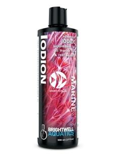 Brightwell Aquatics Iodion   Zaawansowany suplement jodu do wszystkich akwariów morskich i rafowych.