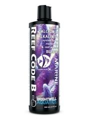 BRIGHTWELL AQUATICS Reef Code B (RCB250) - Zbilansowany suplement wapnia i stabilizator poziomu zasadowości do akwariów morskich i rafowych.