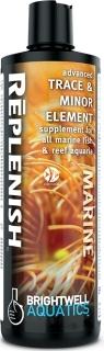 BRIGHTWELL AQUATICS Replenish (REP125) - Zaawansowany suplement mikroelementów i pierwiastków śladowych dla wszystkich akwariów morskich