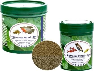NATUREFOOD Premium Kristall - Tonący pokarm dla ryb wszystkożernych i mięsożernych