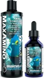 BRIGHTWELL AQUATICS MaxAmino (MAX125) - Kompleks wolnych aminokwasów w optymalnych proporcjach do wszystkich akwariów morskich i słodkowodnych.