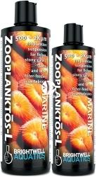 BRIGHTWELL AQUATICS Zooplanktos-L (ZPL125) - Zawiesina zooplanktonu w rozmiarze 500-2000 um dla ryb, korali twardych, małży, filtratorów.