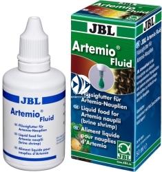 JBL Artemio Fluid 50ml (30904) - Pokarm do karmienia artemii i żywego pokarmu dla ryb akwariowych.