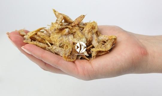Krewetka suszona - Naturalny pokarm dla ryb, żółwi, gadów i ptaków.