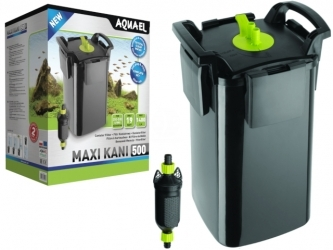 AQUAEL MAXI KANI 500 (120019) | Filtr zewnętrzny kubełkowy do akwarium max. 500l