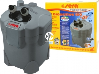 SERA Fil BioActive Precision 130 + UV - Filtr zewnętrzny z lampą UV.
