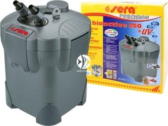 SERA Fil BioActive Precision 250 + UV - Filtr zewnętrzny do akwarium z lampą UV.