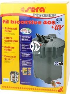 SERA Fil BioActive Precision 400 + UV (30605) - Filtr zewnętrzny do akwarium z lampą UV.