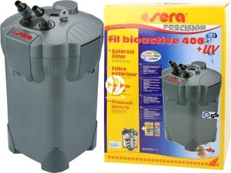 SERA Fil BioActive Precision 400 + UV - Filtr zewnętrzny do akwarium z lampą UV.