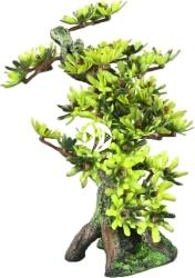 AQUA DELLA Bonsai Medio Sort B (234-420911) - Ręcznie malowane drzewo Bonsai z liśćmi do akwarium