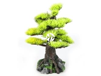 AQUA DELLA Bonsai medio sort c 6ST (234-420928) - Ręcznie malowane drzewo bonsai IGŁY do akwarium [wymiary - 15cm]