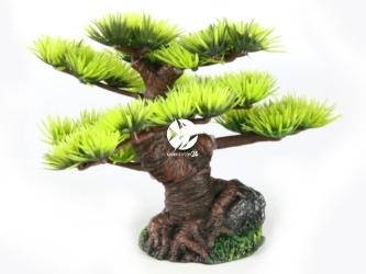 AQUA DELLA Bonsai mini sort b 6ST (234-420874) - Ręcznie malowane drzewo bonsai IGŁY do akwarium [wymiary - 9,5cm]
