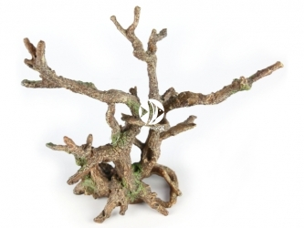 AQUA DELLA Bonsai without leaves Brown (234-424094) - Ręcznie malowany korzeń bonsai bez liści, rozgałęziony do akwarium [wymiary - 25,5x10x24cm]