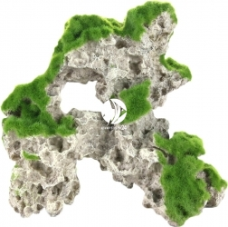 AQUA DELLA Moss Rock 1 (234-431566) - Sztuczna skała z mchem, stojąca do akwarium