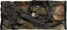 ATG Tło Amazonka (AM50x30) - Tło do akwarium z motywami korzeni i skał, imitujące biotop Amazonii. 100x50 cm
