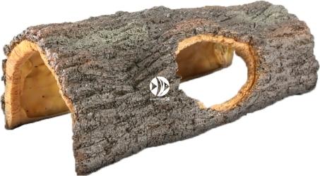AQUA DELLA Oakly M (234-444436) - Sztuczna kora drzewa, ciemna do akwarium